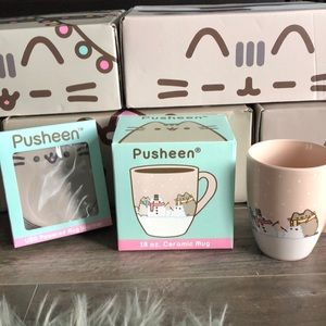 Pusheen Accessories - Gifted Pusheen mug and warmer new in box